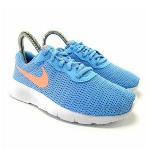Nike Girl's Tanjun Psychic Blue Running Shoes (GS)